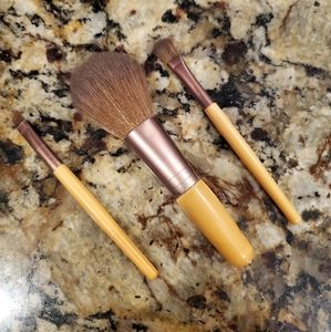 3 pieces makeup brush